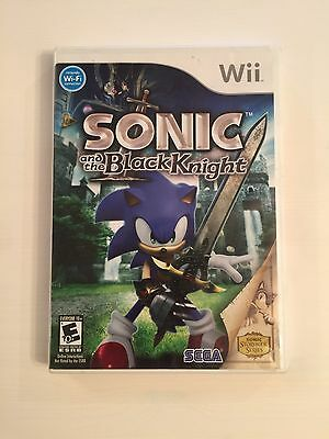 Sonic and the Black Knight Nintendo Wii Complete In Case