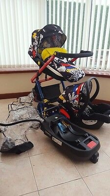 Cosatto Woop 2 In 1 Travel System. Old Skool