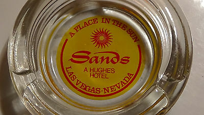 Rare Sands ( 1950S - Cool Shape Sun Logo ) Las Vegas Nv Casino Ashtray