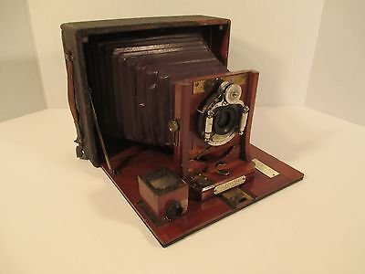 Rochester Optical Cycle Poco No.4 Camera With Black Leather Bellows