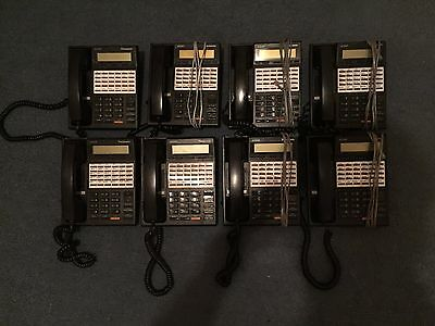 8 Panasonic XDP KX-T7230 Phones Used and Not Tested