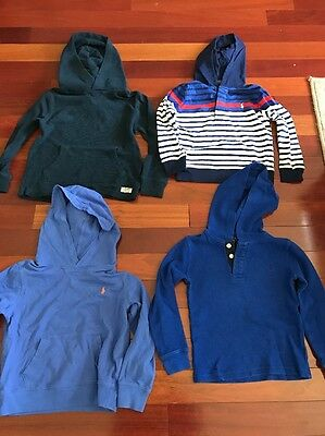 Lot Of Long Sleeve Ralph Lauren Polo Hoodies Boys Toddler 5T Perfect Condition!!