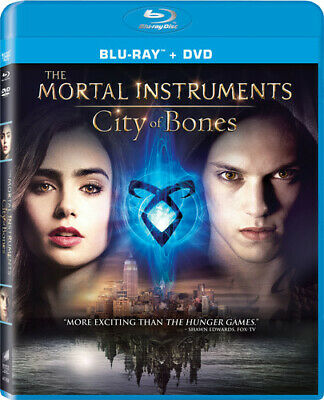 The Mortal Instruments: City of Bones (Blu-ray/DVD, 2013, 2-Disc Set, Includes D