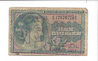 MPC Series 692 1 dollar circulated with RED VOID STAMP  SCARCE