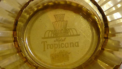Rare 1960S Tropicana ( Web Pattern - 3 Fountains  ) Las Vegas Nv  Casino Ashtray