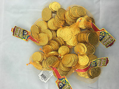 720g 88pc Pirate Gold Coins Australian Dollar Milk Chocolate Party Favor Lolly