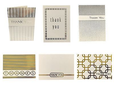 24xThank you Cards & Envelopes Birthday Wedding Craft Bulk Thank you Card Pack
