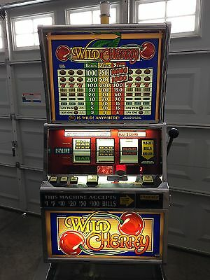 "Igt ""wild Cherry"" Upright Reel Slot Machine 1996"
