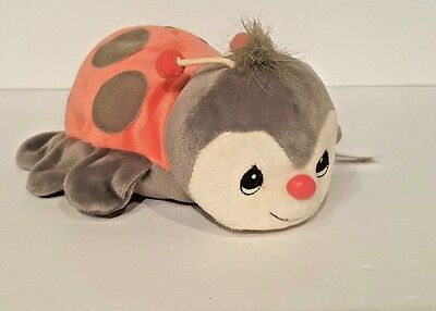 PRECIOUS MOMENTS ** TENDER TAILS ** LADYBUG ** RED AND BLACK stuffed animal doll