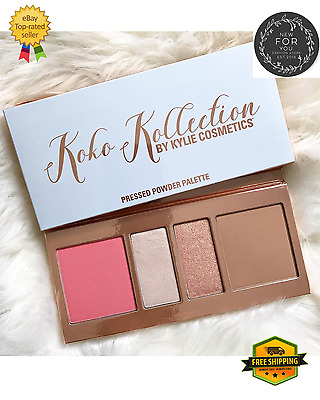 NEW!!4 colours Pressed Powder Contour Palette Blush&Highlighter!FREE POSTAGE!