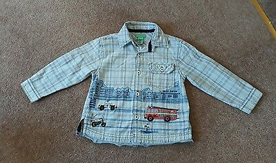 Monsoon Boys Shirt 18/24 Months Excellent Condition
