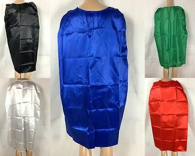 Adults Teenagers Party Costume Vampire Cape School Team Long Cape Assort Colours