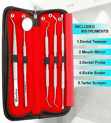 Dental Floss remover Teeth Whitening Cleaning Kit Plaque Calculus Plaque Remover