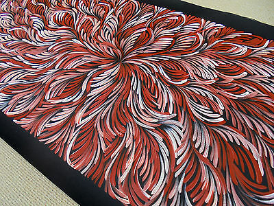 SELINA NUMINA 150 x 60 cm Original Painting - Aussiepaintings Aboriginal Art