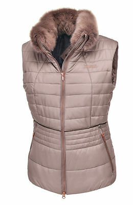 NEW Pikeur Gracia Padded Gilet Rose Gold Size: 36 ***SALE***