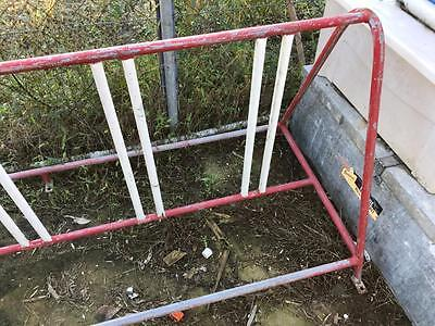 Old Vintage Retro Industrial Steel School Bike Bicycle Rack Bmx Pushbike Cycle