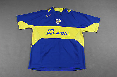 rare CABJ BOCA JUNIORS Football Shirt #10 MARADONA Size: XL