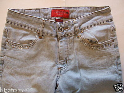 EXOCET Jeans NEW YORK Women's Jeans Size-7 Flare Blue Nice!