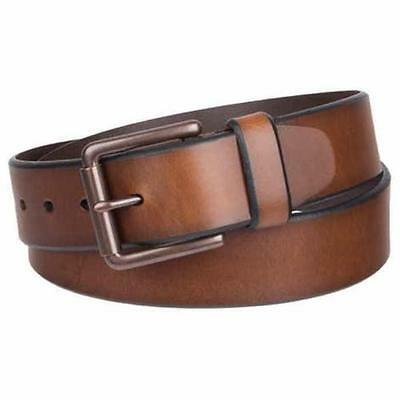 LEVI'S Men's, Casual Leather Belt, Brown, 32, 34, 36, 38, 40 VARIETY**