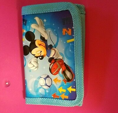 Mickey mouse trifold childs wallet