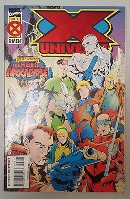 X Universe #2 Age of Apocalypse 1995 Marvel Comics VF Flat Ship