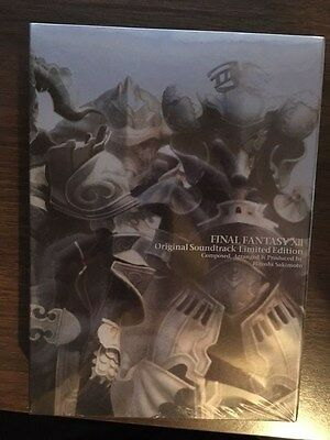 FINAL FANTASY XII 12 ORIGINAL SOUNDTRACK New CD PS3 Music Game OST Anime