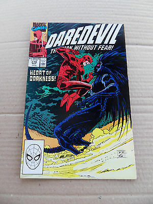 Daredevil 278 . John Romita Jr . Marvel 1990 . VF