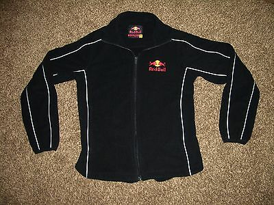 Red Bull Fleece Jacket Adult Small