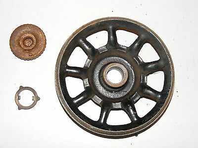Antique Singer Sewing Machine Spoke Wheel Model 127 - 1917 - G5754018