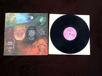 King Crimson In The Wake Of The Poseidon Lp 1st Press A1 B1 ILPS 9127 ISLAND