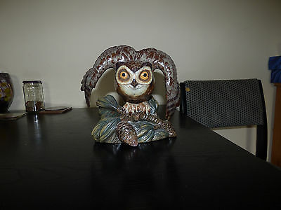 A Very unique and excedeling Very Very Rare Eagle Owl Figure By Lladro/Nao