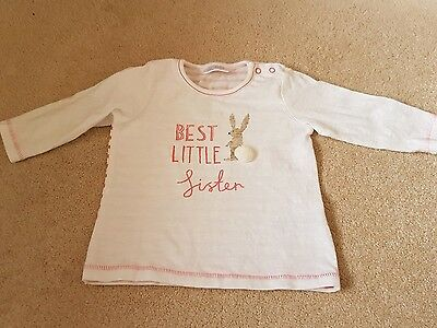 Next baby girl 3-6 month top