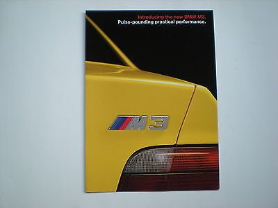 BMW 1993 M3 Catalog /Brochure
