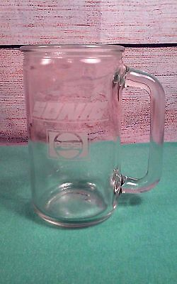 """Vintage Sonic America's Drive-In Clear Glass Pepsi Beer Style Mug 5 1/2"""""""