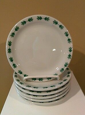 "Shenango Restaurantware Dessert Dishes Qnty of 6 ""Vintage"" Laurentian Pattern"