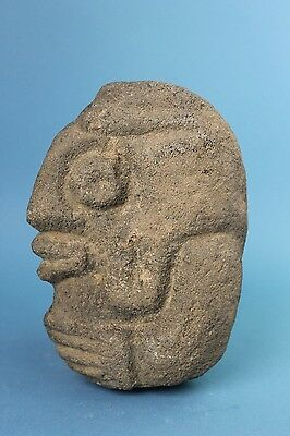 Pre Columbian - Mayan Stone Statue - Diety Figure - No Reserve