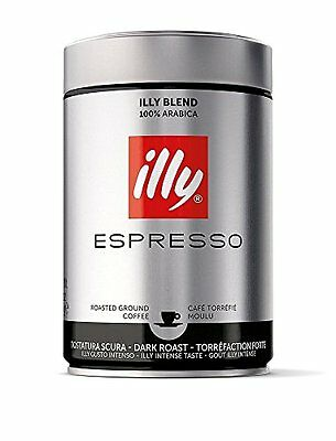 illy Dark Roast Ground Coffee, 250g