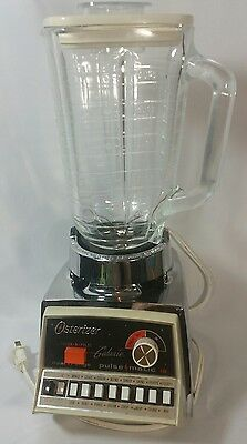 Osterizer Galaxie Pulse Matic 16 Blender Vintage Appliance 861-08A