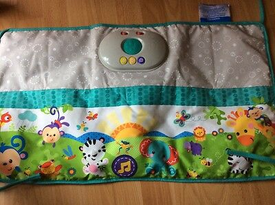 Fisher Price Rainforest Friends Musical Light Up Cot Soother