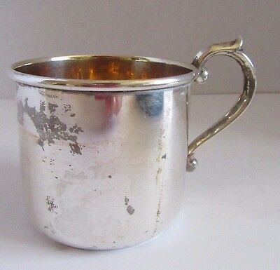 Sterling Child's Cup  F.B. Rogers Silver Co.Single Handle