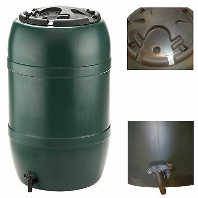 210L Garden Water Butt Waterbutt Including Tap & Lockable Lid Ward Strata GN325