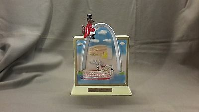 jim beam Gateway to the West decanter empty (mm 978)