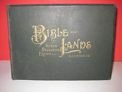Rare_1896 Bible Holy Land Photos_Egypt_Syria_Orient_Ancient Ruin Jesus_Sold $275