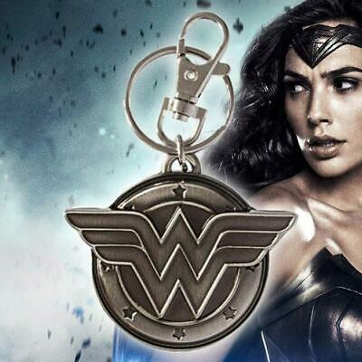 Wonder Woman Pewter Keychain