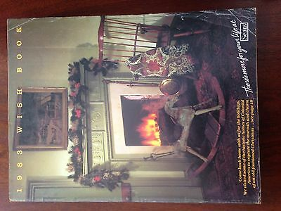 Vintage Sears Department Store Christmas Wish Book Catalog 1983