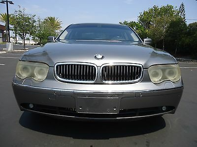 2005 BMW 7-Series Sedan 2005 BMW 745LI AUTO V8 4DR SEDAN 120K LOADED CALIFORNIA CAR !!! NO RESERVE !!!