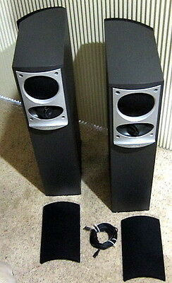 2- BOSE 701 SERIES II Direct Reflecting 260W Stereo Tower Speakers/Excl. Cond.!