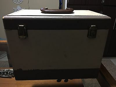 Singer Featherweight 221J (fits 221) Sewing Machine Case and Small Tray ORIGINAL