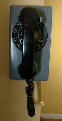 Western Electric Rotary Dial Wall Mount Telephone