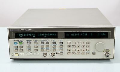 HP/Agilent 83752A 10MHz-20GHz Synthesized Signal Generator and Sweeper Opt 1E5 1